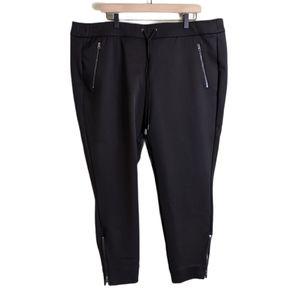 Lane Bryant Scuba Stretch Jogger Pants